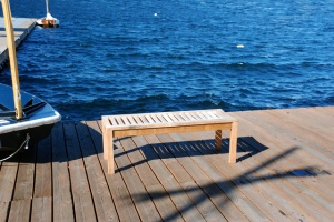 Bench on the pier